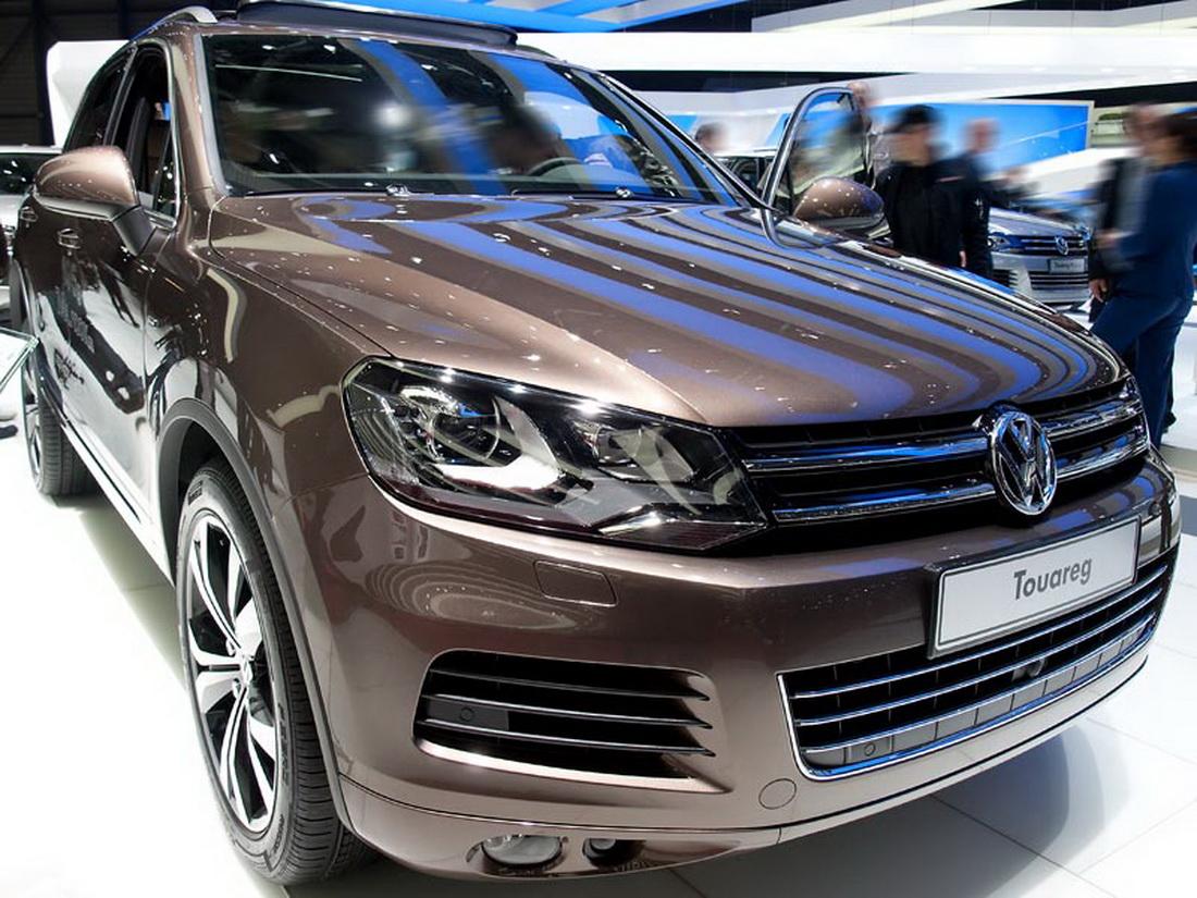 VW Touareg Modell 2014 Neuwagen mit Rabatt günstig kaufen!