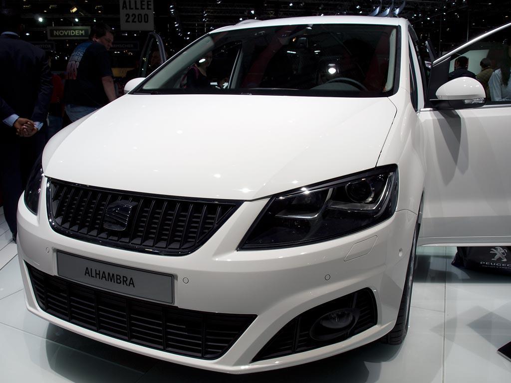 Seat Alhambra I-TECH Neuwagen mit 26% Rabatt günstig kaufen