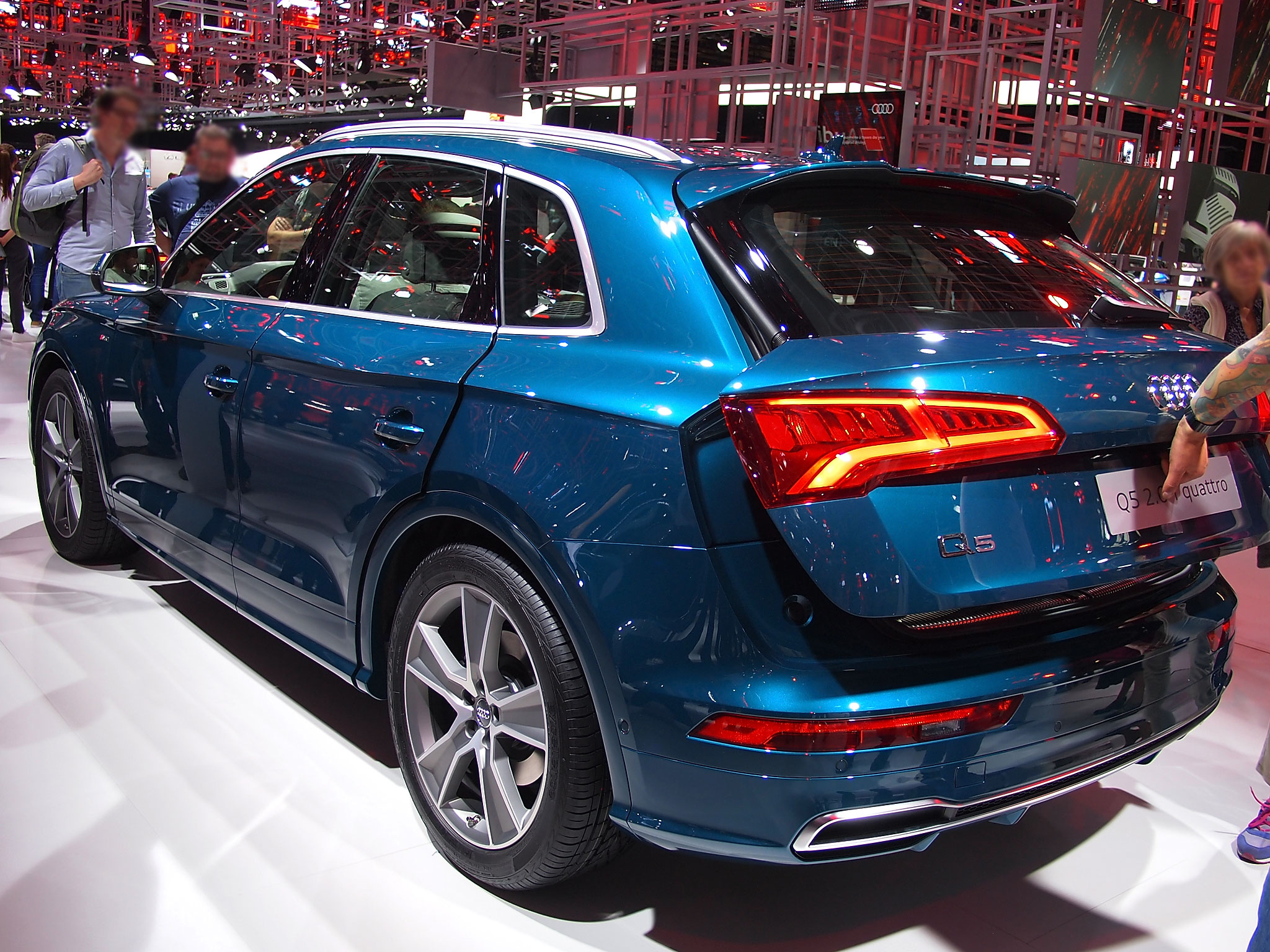 Den Audi Q5 Neuwagen mit bis zu 20.8% Rabatt günstig kaufen
