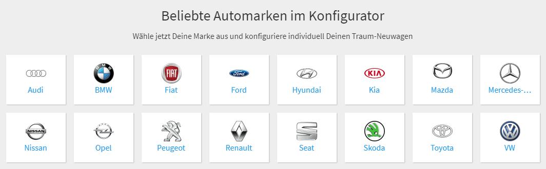 Deutsche Neuwagen günstig kaufen